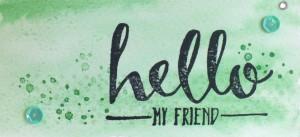kop hello groen