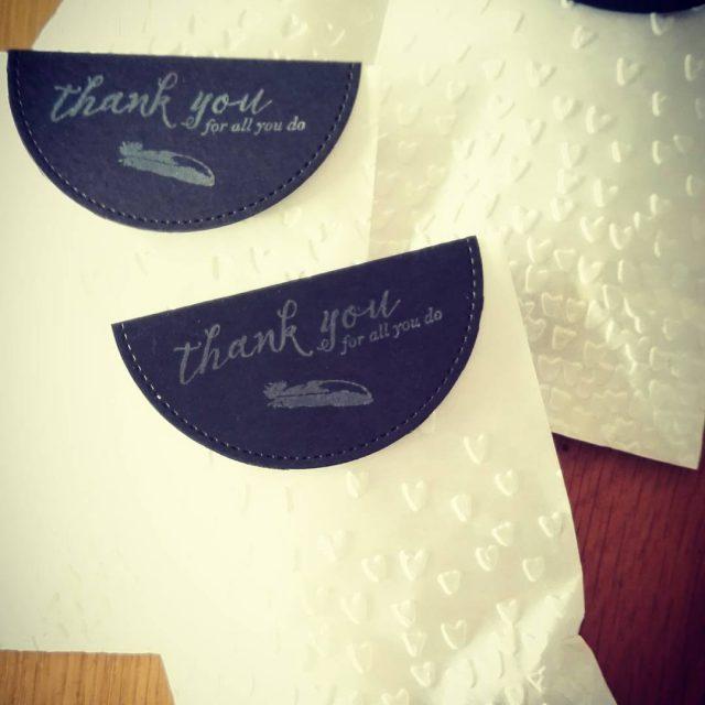 Bedankjes bij klantenbestellingen stampinupdemonstrator stampinupnl ijsselmuidenkampen emmeloord papercraft stamping