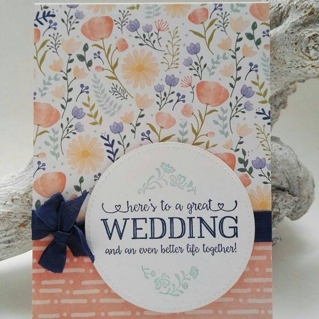 Felicitatiekaart voor een huwelijk stampinupnl ijsselmuidenkampen emmeloord papercraft mooivanpapier
