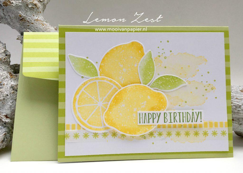 Stampin'Up! Lemon Zest