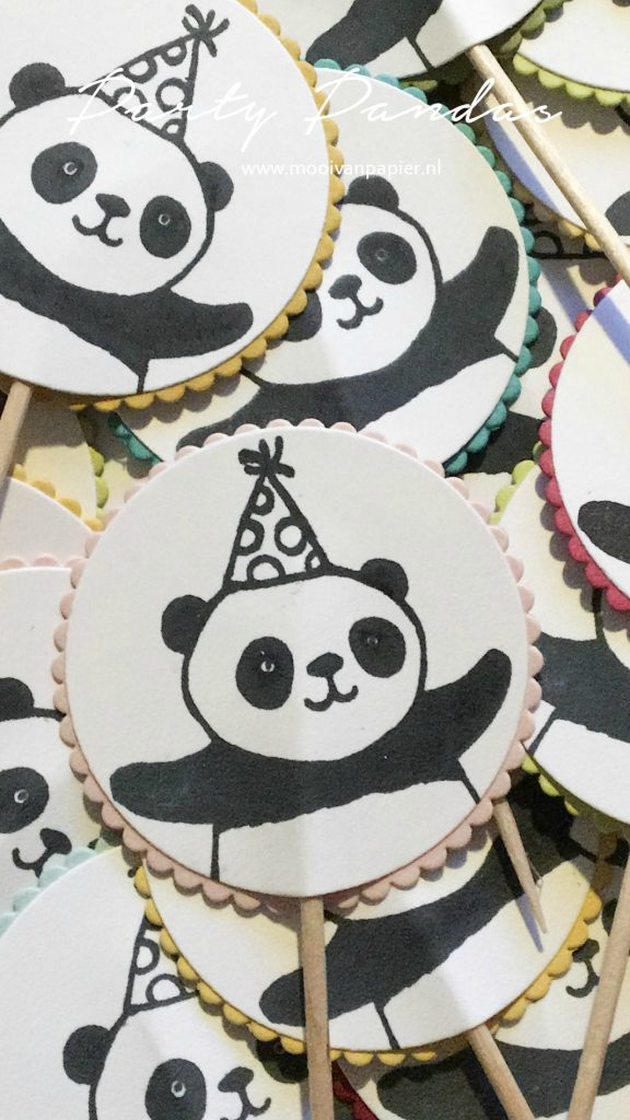 Stampin'Up! Party Pandas