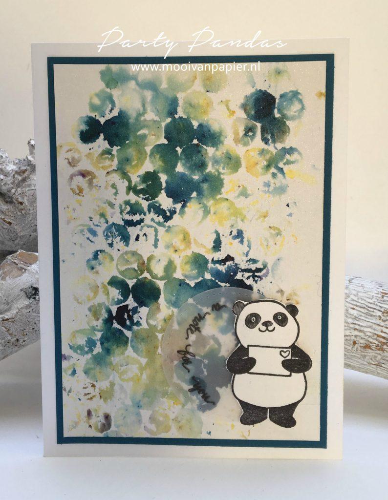 Stampin'Up! Party Pandas Brusho