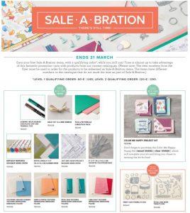Stampin'Up! Sale-a-Bration