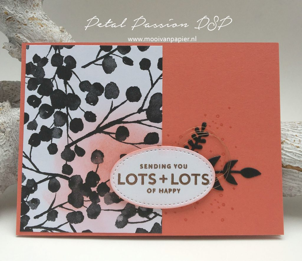 Stampin'Up! Petal Passion DSP