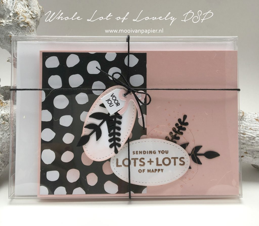 Stampin'Up! Whole Lot of Lovely DSP