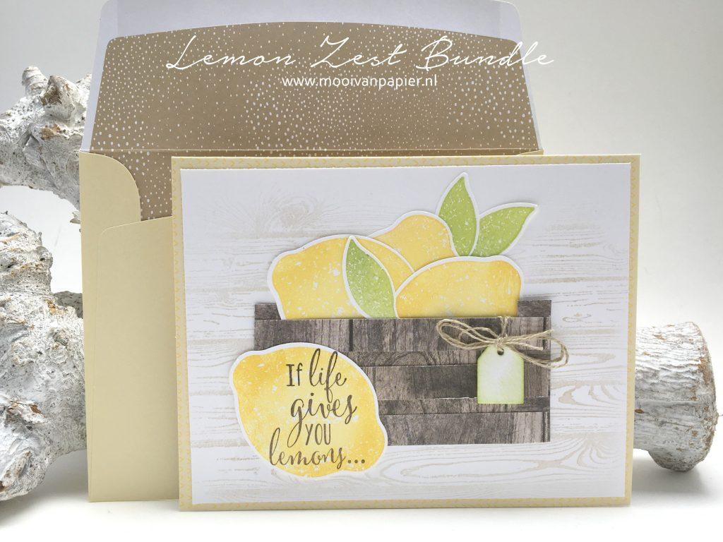 Stampin'Up! Lemon Zest Bundle